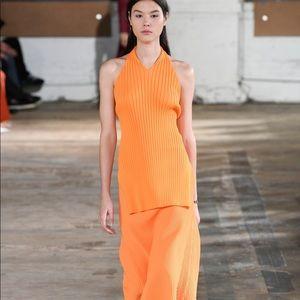 Tibi halter top and matching cardigan NEW  🍊